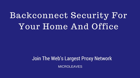 Backconnect Security For Your Home And Office